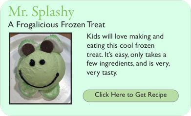 Frogalicious Frozen Treat Recipe