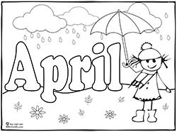 may coloring pages for preschoolers - photo#25