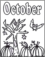 fall leaves click image to download and print october coloring page