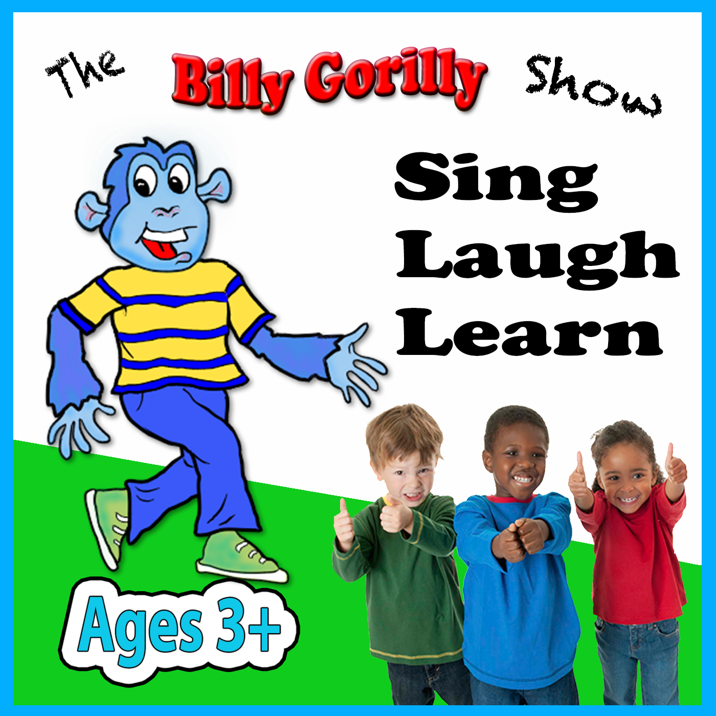 Billy Gorilly Podcast for Kids Logo